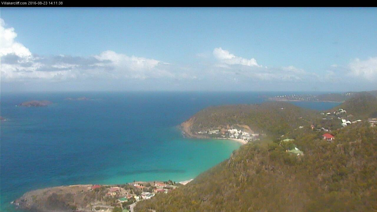 St Barth - Villakercliff.com - Flamands - Webcam
