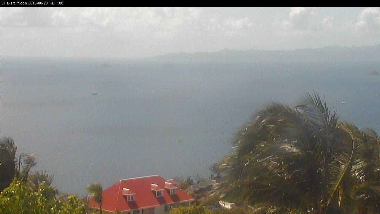 St Barth - Villakercliff.com - Sunset View - Webcam