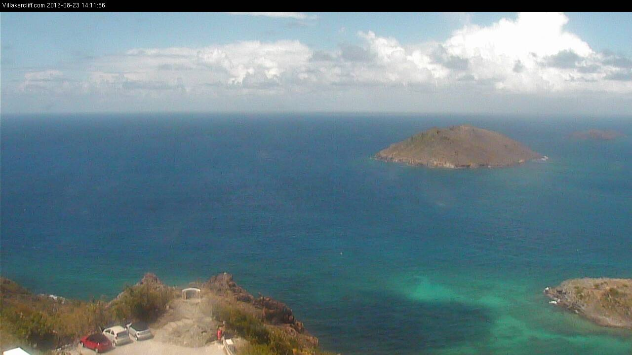 St Barth - Villakercliff.com - East View - Webcam